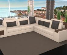 Sedežne garniture Šulc Dora XL - bež barve