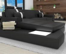 Sedežne garniture Šulc Jana L - črne barve