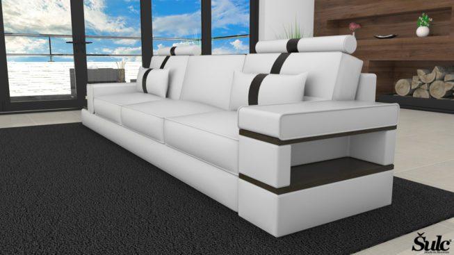 Sedežne garniture Šulc Jana trosed - bele2 barve