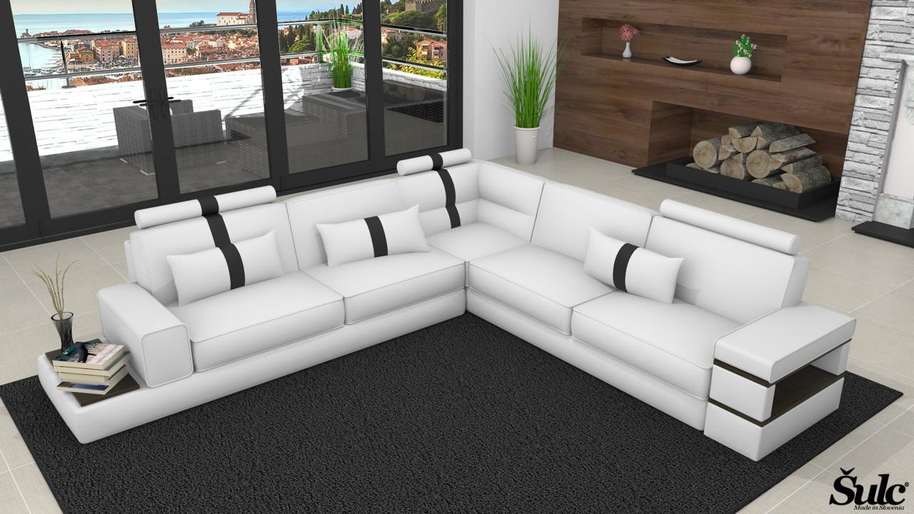 Sedežne garniture Šulc Jana XL - bele barve