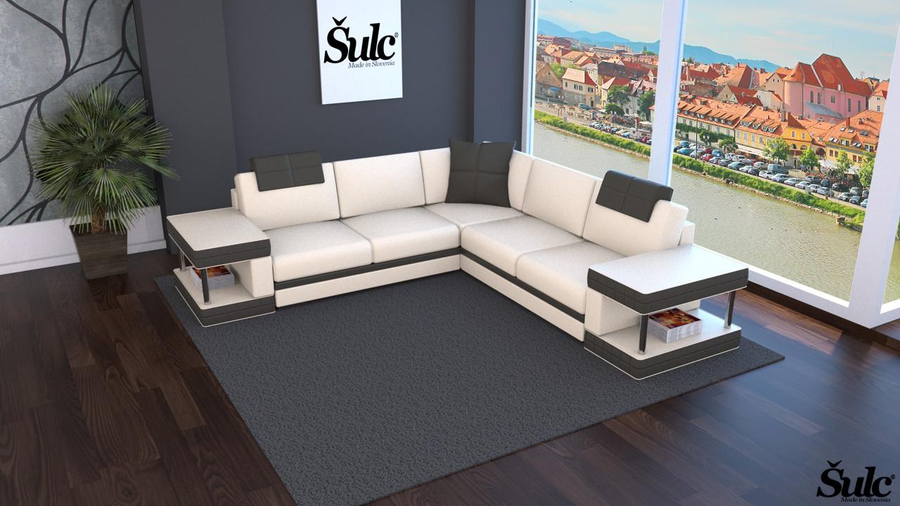 Sedežne garniture Šulc Franja XL - bež barve