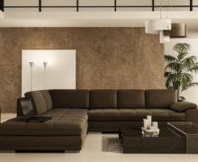 Sedežne garniture Šulc Dea XL - rjave barve