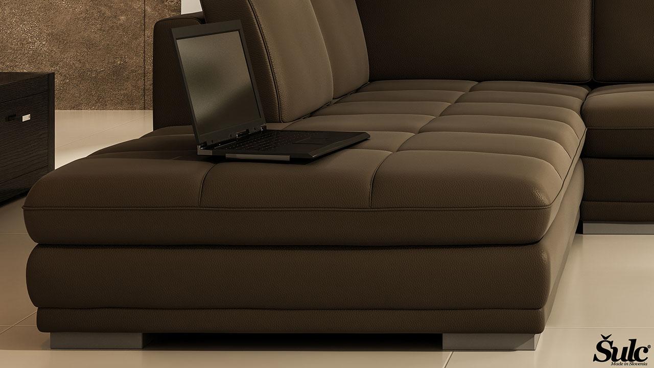 Sedežne garniture Šulc Dea XL - rjave4 barve