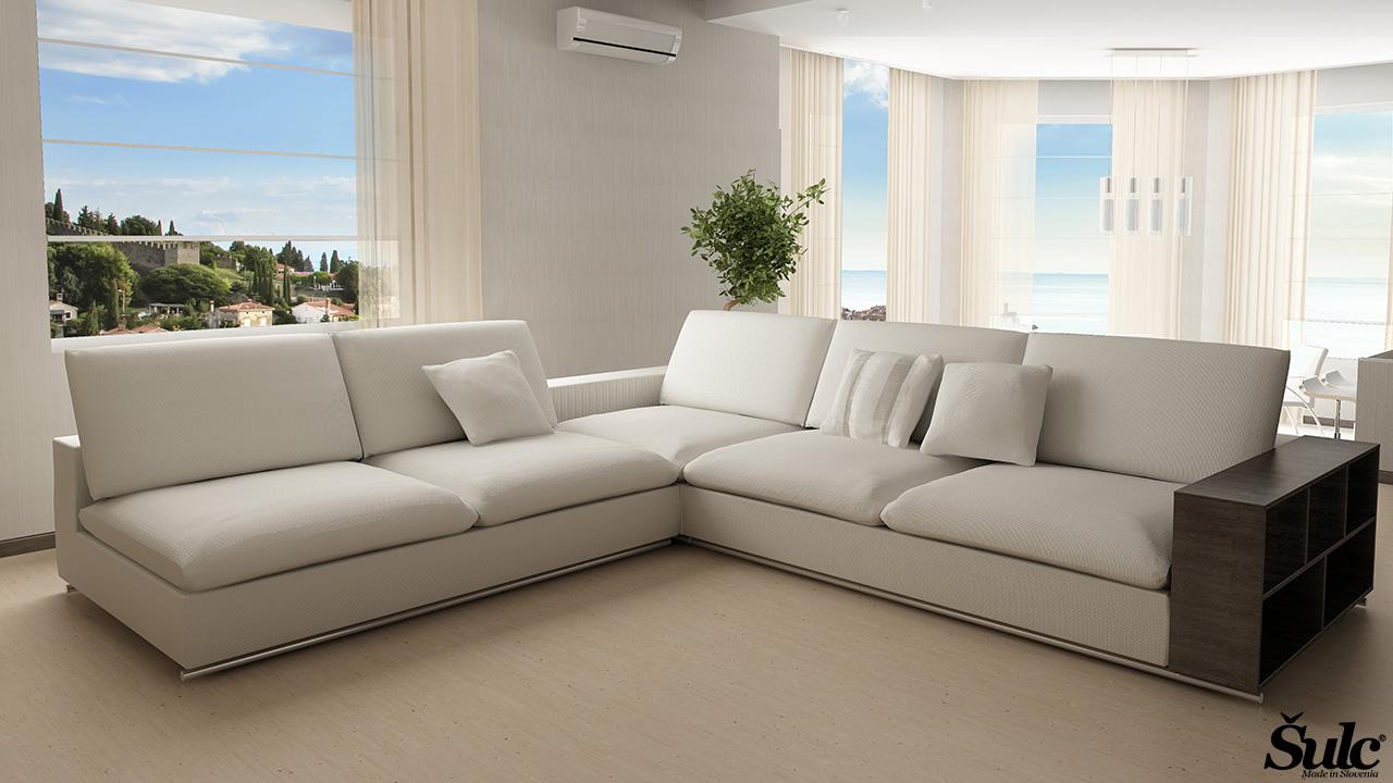 Sedežne garniture Šulc Tea XL - bele5 barve